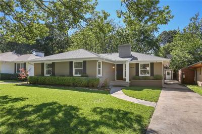 Dallas County Single Family Home For Sale: 6206 Monticello Avenue