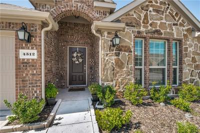 Frisco Single Family Home For Sale: 4512 Bayport Drive