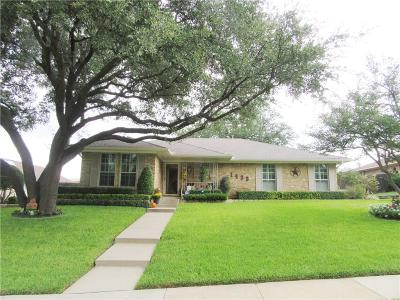 Carrollton Single Family Home For Sale: 1433 Northridge Drive