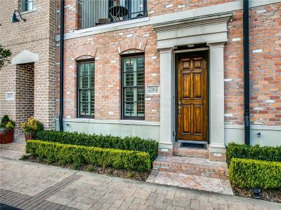Dallas Townhouse For Sale: 2161 Marilla Street