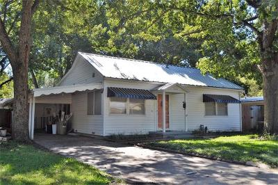 Terrell Single Family Home Active Option Contract: 304 Roberts Avenue