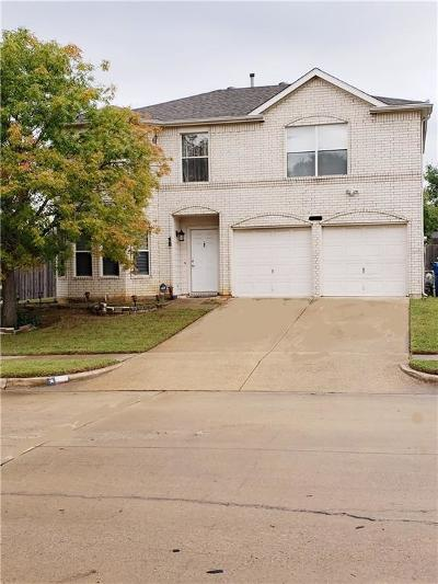 Seagoville Single Family Home Active Option Contract: 130 Walnut Drive