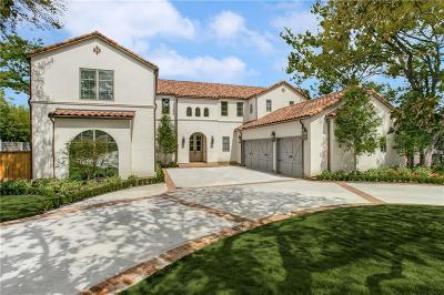 Dallas  Residential Lease For Lease: 5519 Farquhar Lane