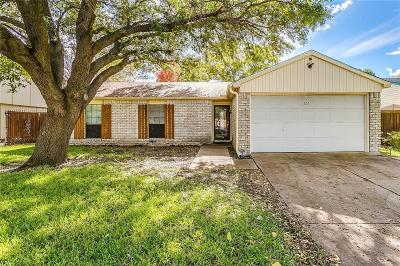 The Colony Single Family Home For Sale: 5221 Miller Circle