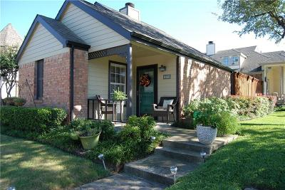 Dallas Single Family Home For Sale: 4112 Shadow Gables Drive