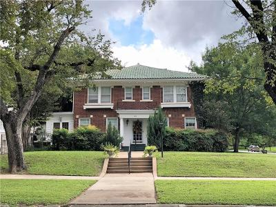 Fort Worth Single Family Home For Sale: 1415 Elizabeth Boulevard