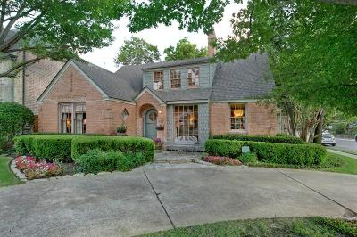 Dallas County Single Family Home For Sale: 3469 Amherst Avenue