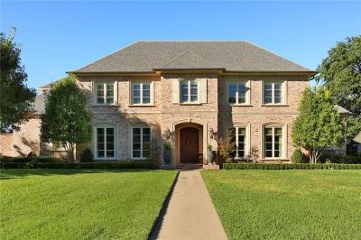 Dallas Single Family Home For Sale: 4223 Valley Ridge Road