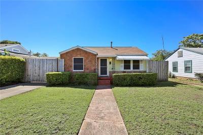 Dallas County Single Family Home For Sale: 4610 Cowan Avenue