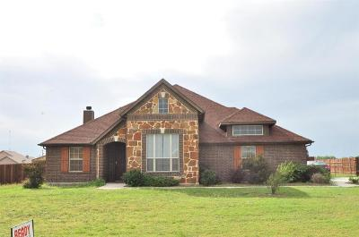 Rhome TX Single Family Home For Sale: $359,000
