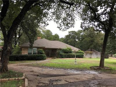 Fort Worth Single Family Home For Sale: 11635 Oakwood Lane