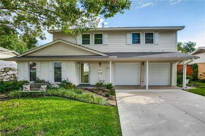 Richardson Single Family Home For Sale: 747 Snowden Drive