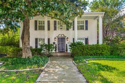 Dallas County Single Family Home For Sale: 4329 Hyer Street