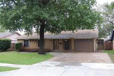 Lewisville Single Family Home Active Option Contract: 126 Westwood Place
