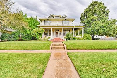 Corsicana Single Family Home For Sale: 1206 W 4th Avenue