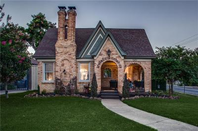 Dallas Single Family Home For Sale: 5451 McCommas Boulevard