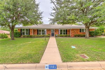 Fort Worth Single Family Home For Sale: 1401 Saxony Road
