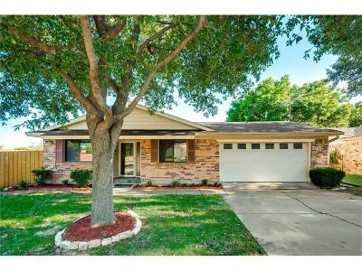 Carrollton Single Family Home Active Option Contract: 2130 Versailles Drive