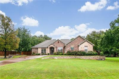 Granbury Single Family Home Active Option Contract: 3238 Golden Oaks Circle