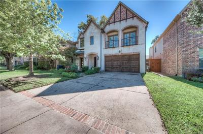 Dallas Single Family Home For Sale: 6142 Velasco Avenue
