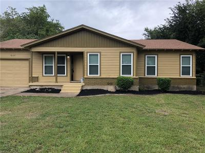 Haltom City Single Family Home For Sale: 5129 Sabelle Lane