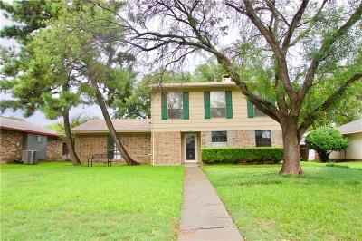 Lewisville Single Family Home Active Option Contract: 1869 Juniper Lane