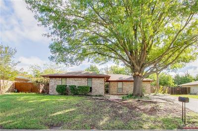 Sherman Single Family Home Active Option Contract: 3105 S Carolina Drive