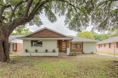 Dallas Single Family Home For Sale: 11631 Farrar Street