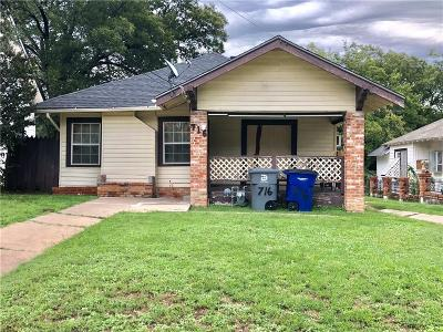 Dallas Single Family Home For Sale: 716 N Beckley Avenue