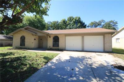 Grand Prairie Single Family Home For Sale: 1826 Acosta Street