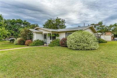 Haltom City Single Family Home Active Option Contract: 5333 Mallory Drive