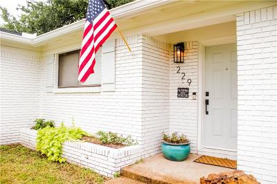 Azle Single Family Home For Sale: 229 N Jarvis Lane