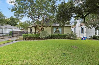 Dallas Single Family Home For Sale: 6306 Ellsworth Avenue