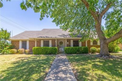 Plano Single Family Home Active Option Contract: 3204 Canyon Valley Trail