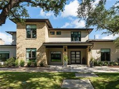 Dallas Single Family Home For Sale: 7225 Glendora Avenue