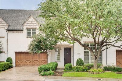 Dallas Townhouse For Sale: 5908 Tewkesbury Way