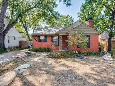 Dallas Single Family Home For Sale: 3718 Valley Ridge Road