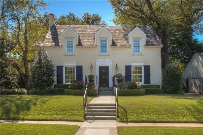 Fort Worth Single Family Home For Sale: 3705 Potomac Avenue