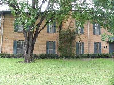 Dallas Condo For Sale: 6013 E University Boulevard #248