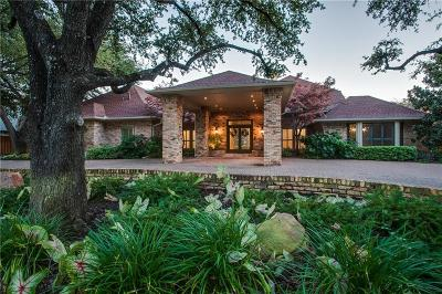 Dallas Single Family Home For Sale: 16928 Club Hill Drive