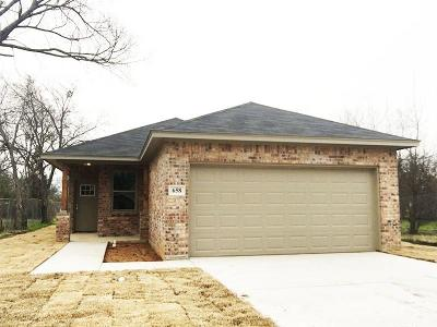Cleburne Single Family Home For Sale: 658 Barber Avenue