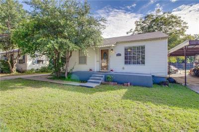 Dallas County Single Family Home For Sale: 6628 Prosper Street