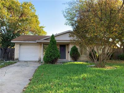 Richardson Single Family Home For Sale: 619 La Salle Drive