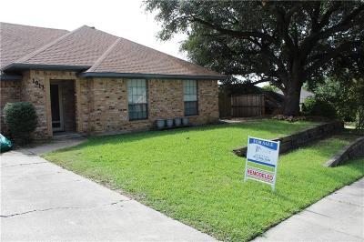 Irving Single Family Home For Sale: 1013 Old Mill Circle