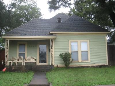 North Fort Worth Single Family Home Active Option Contract: 2119 Ross Avenue