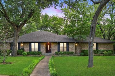 Dallas Single Family Home For Sale: 1738 Timbergrove Circle