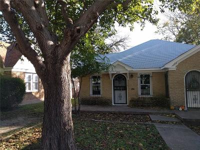 Fort Worth Residential Lease For Lease: 4221 El Campo Avenue