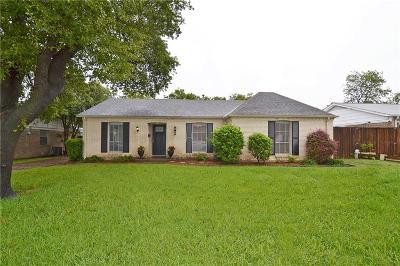 Richardson Single Family Home Active Option Contract: 408 Lowell Lane