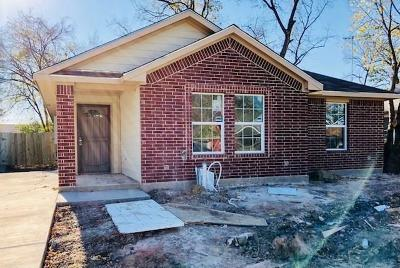 Dallas Single Family Home For Sale: 2249 Macon Street