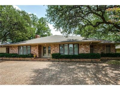 Dallas Single Family Home For Sale: 7226 Meadow Road
